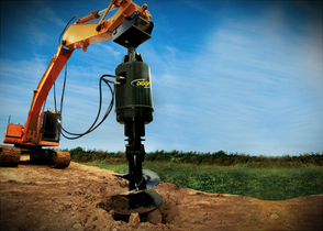 Auger, Drilling Drives